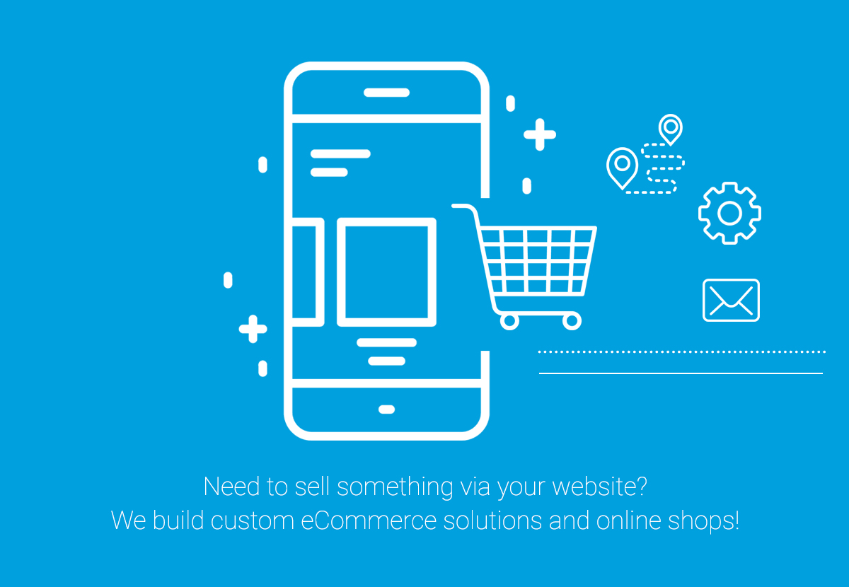 Custom ecommerce solutions and online shops